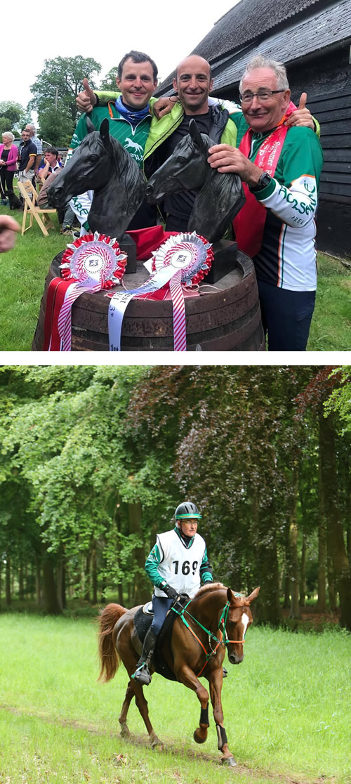 Irish riders enjoy clean sweep at 25th anniversary Endurance GB FEI King